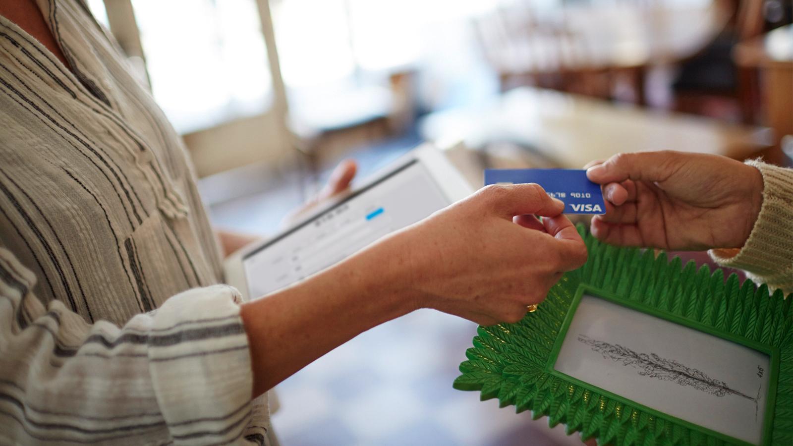 معلومات لمستقبلي البطاقات | Visa